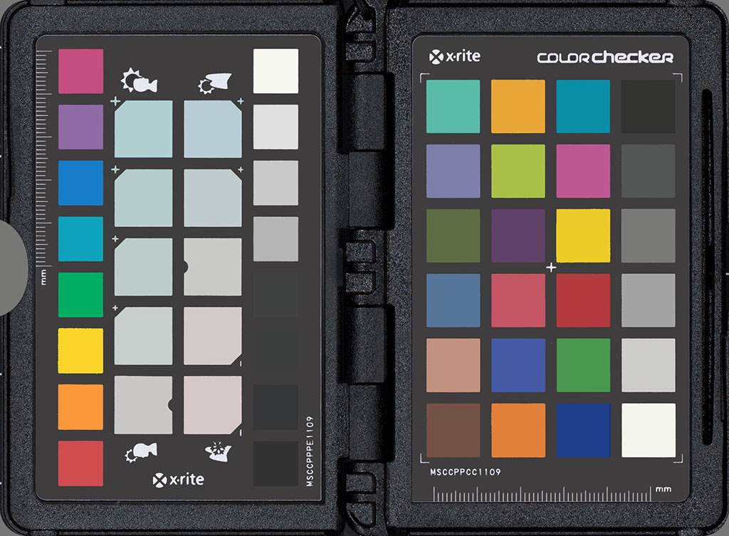 Synthetic ColorChecker Passport